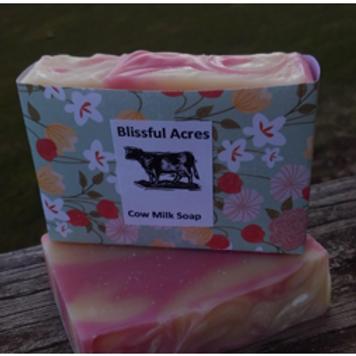 Blissful Acres Rose Quartz Soap