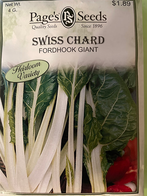 Swiss Chard-Fordhook Giant
