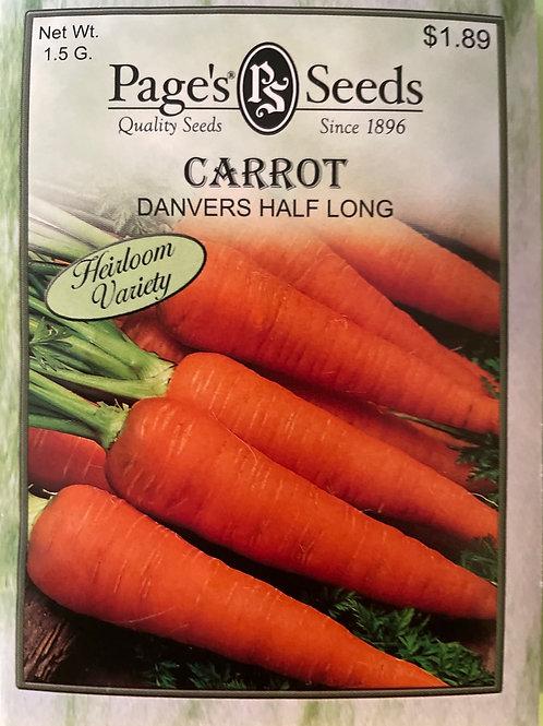 Carrot-Davers Half Long