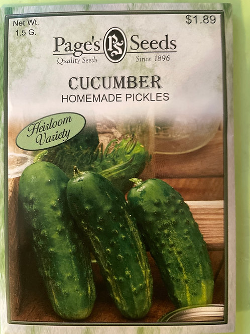 Cucumber-Homemade Pickles