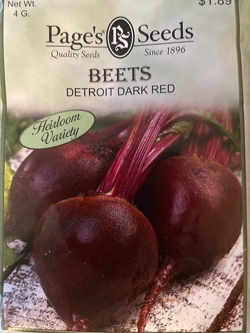 Beets-Detroit Dark Red