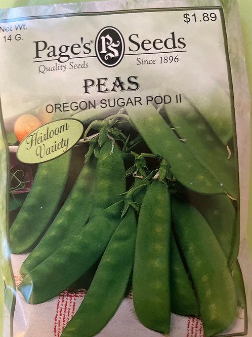 Peas-Oregon Sugar Pod11