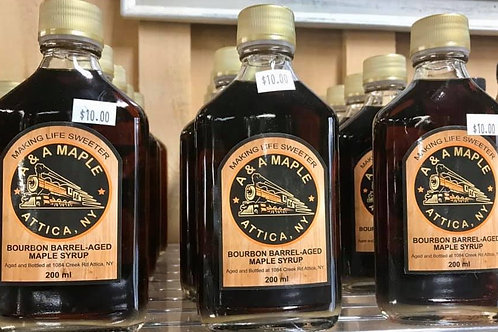 A&A Bourbon Maple Syrup