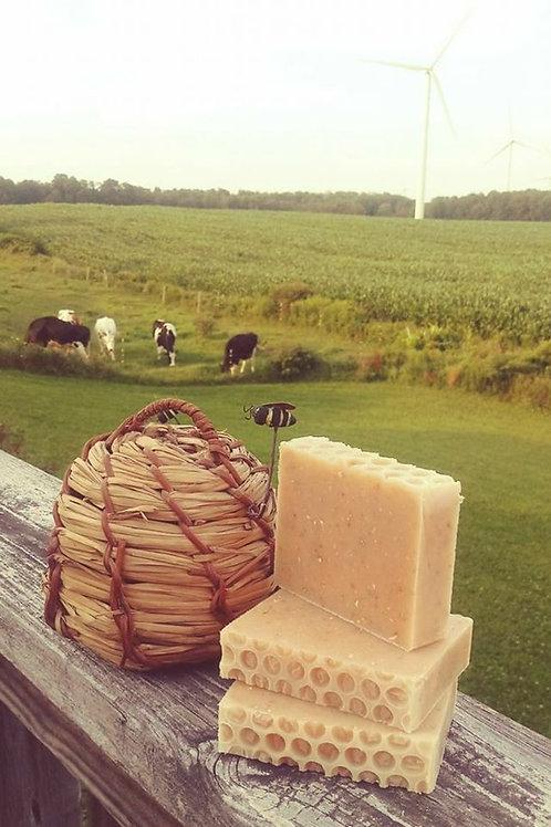 Blissful Acres Oatmeal Honey Soap