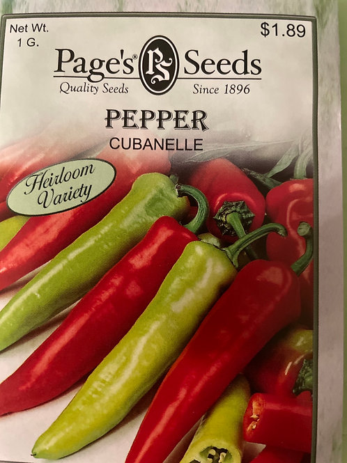 Pepper-Cubanelle