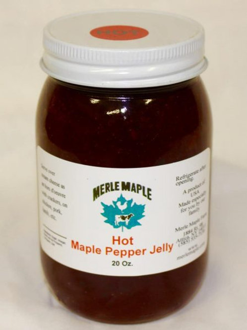 Merle Maple Pepper Jellies