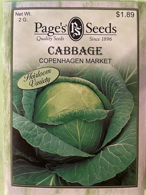 Cabbage-Copenhagen Market
