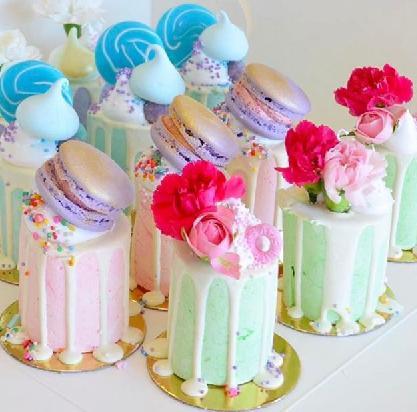 """Min 3""""  drip cake"""