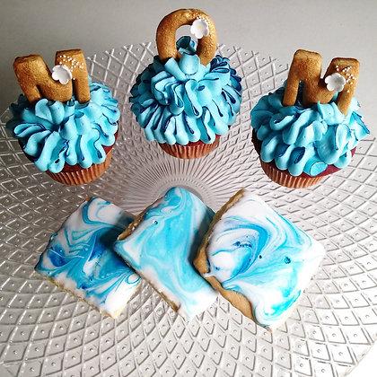 Mom cupcake & cookie pack