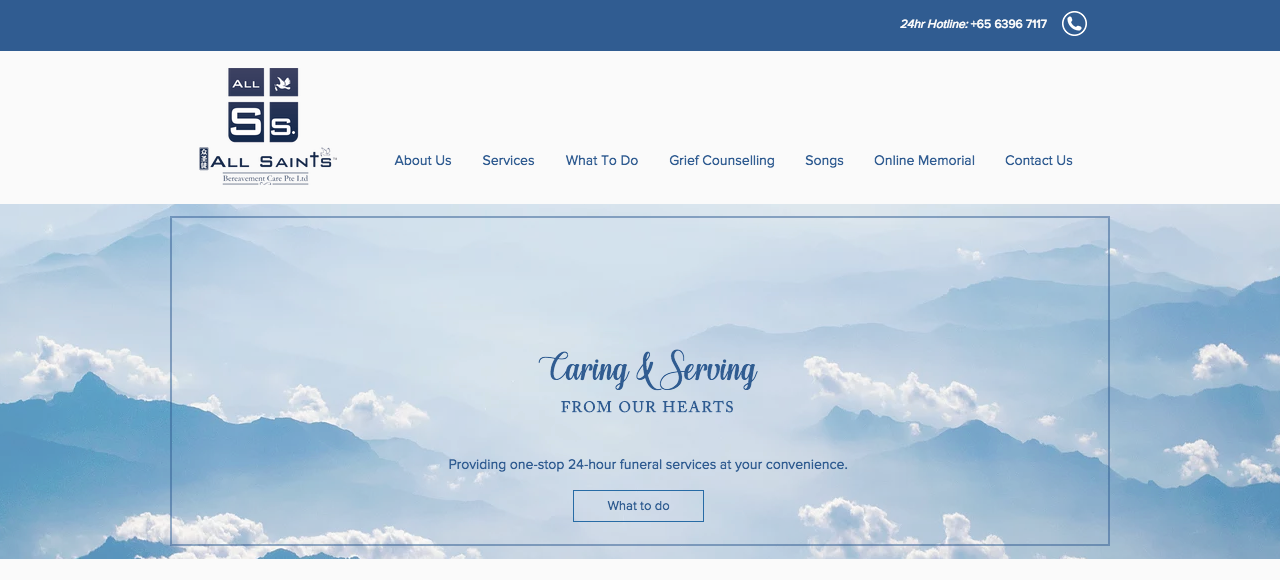 Christian & Catholic Funeral | All Saints Bereavement Care | Singapore