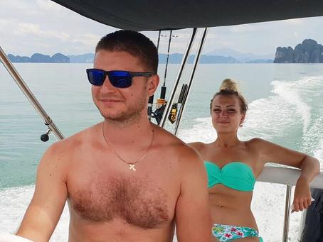 Романтическое путешествие на яхте для двоих