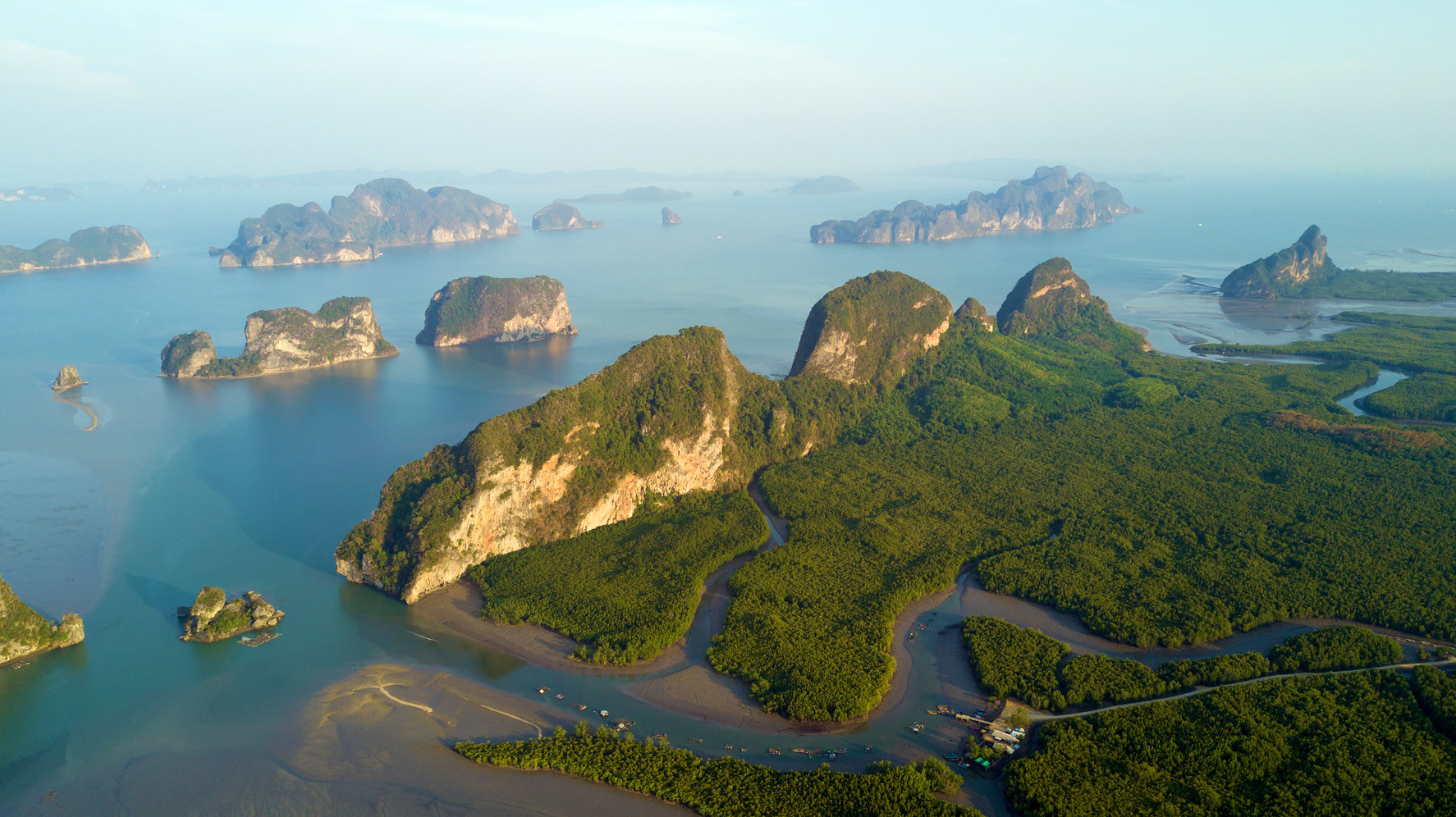 Canva - Aerial View of Phang Nga Bay (1)