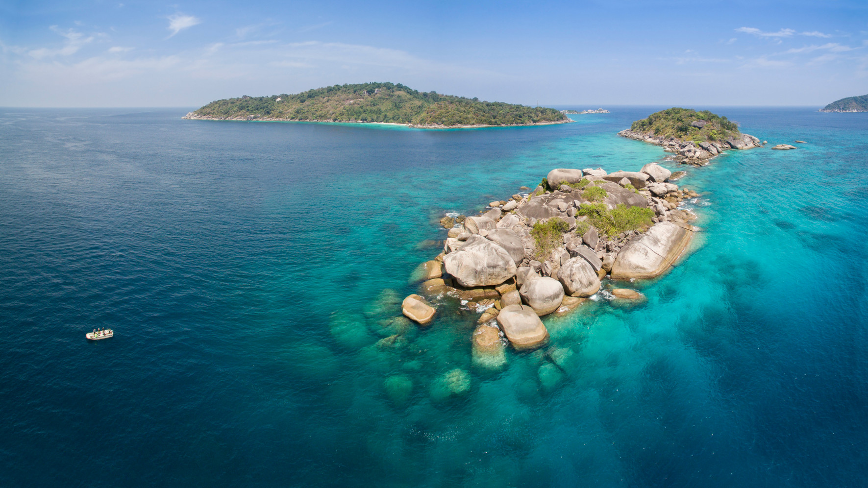 Canva - The Aerial View At Similan Islan