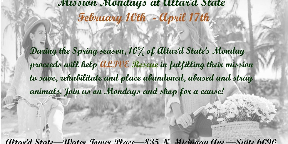 Altar'd State - Mission Mondays