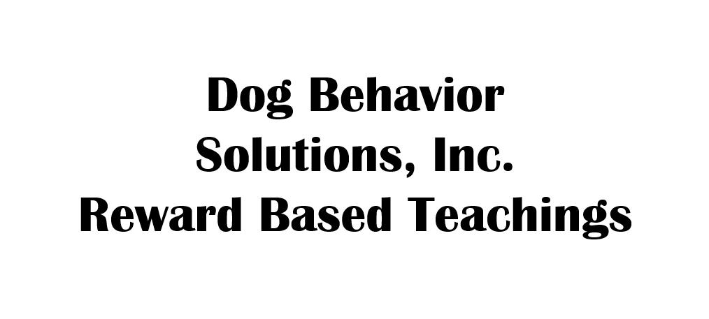 Dog Behavior Solutions, Inc.