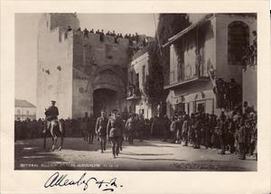General Allenby Kudüs'e girerken