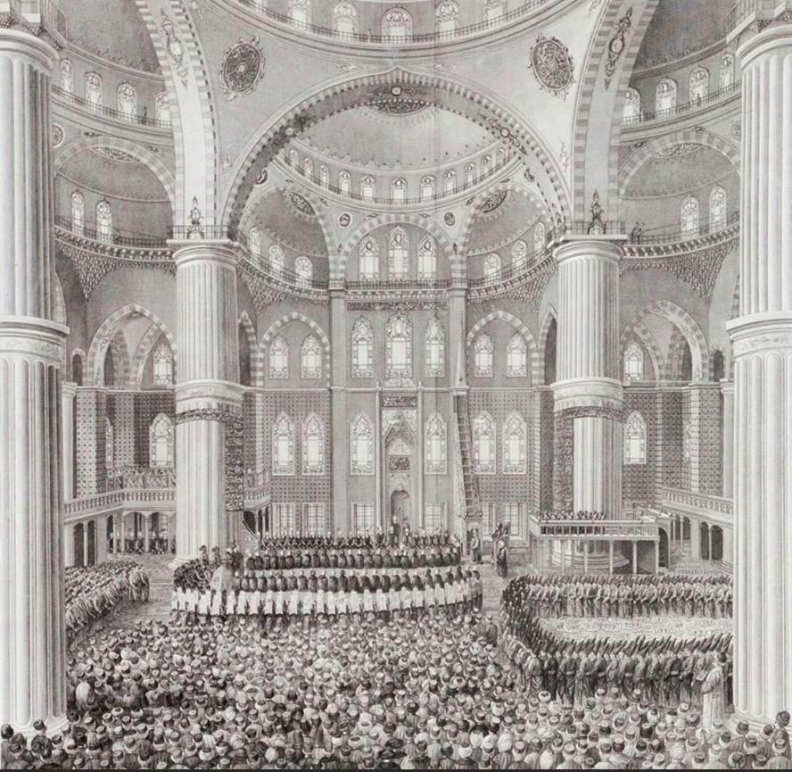Sultan Ahmed Camii, Mevlid-i Nebi Kutlaması, 1784