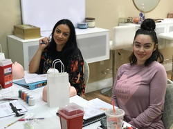 Microblading Training in session 💕_._._