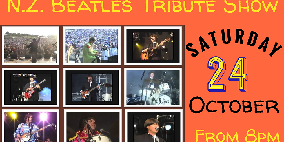 NZ Beatles Tribute - Saturday 24th October from 8pm