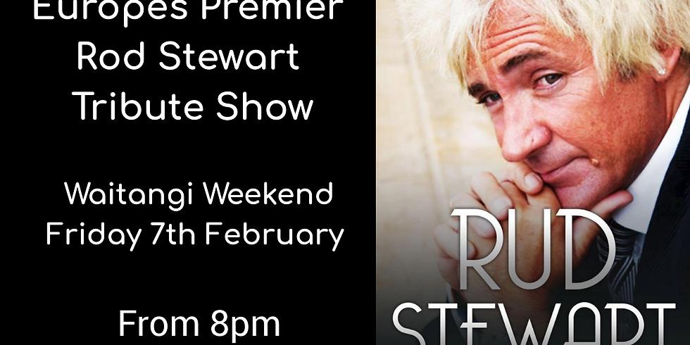 Rud Stewart - Rod Stewart Tribute Show - Friday 7th February from 8pm