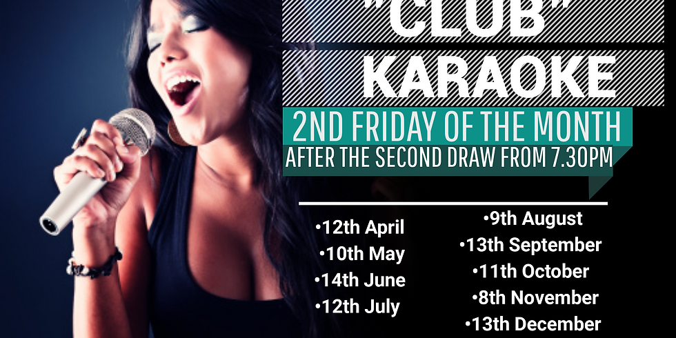 """""""Club"""" Karaoke - Friday 13th December from 7.30pm"""