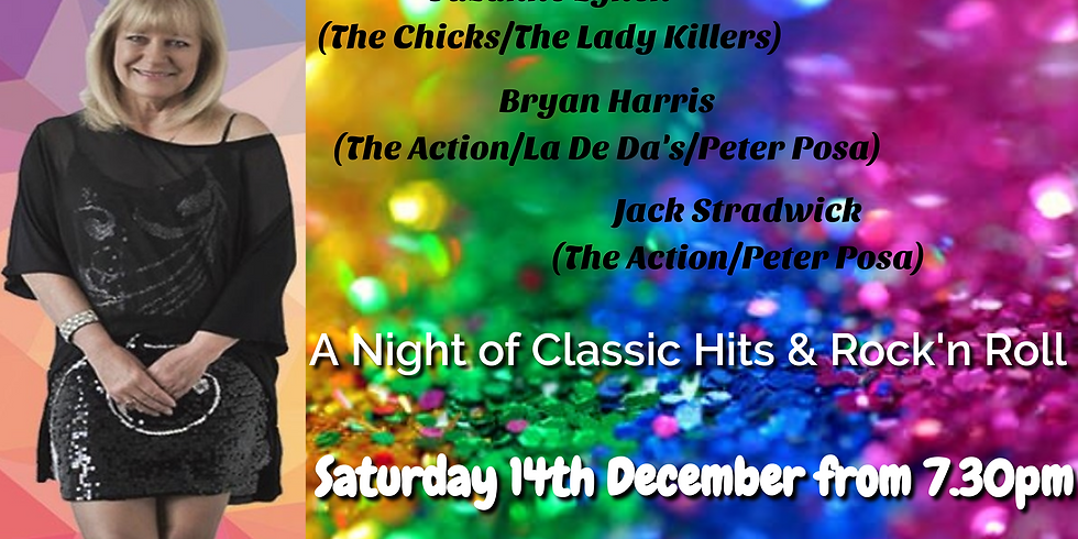 Suzanne Lynch & Friends - Saturday 14th December from 7.30pm