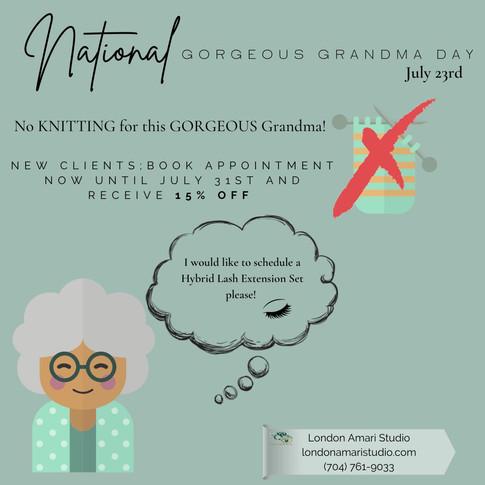 Gorgeous Grandma Day 15% OFF