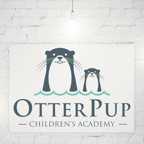 OTTERPUP CHILDREN'S ACADEMY LOGO DESIGN