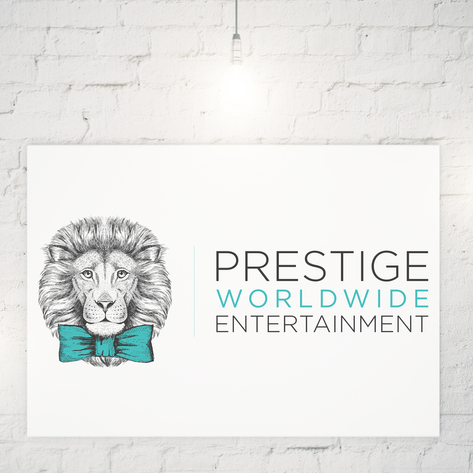PRESTIGE WORLDWIDE ENTERTAINMENT  |  LOGO DESIGN