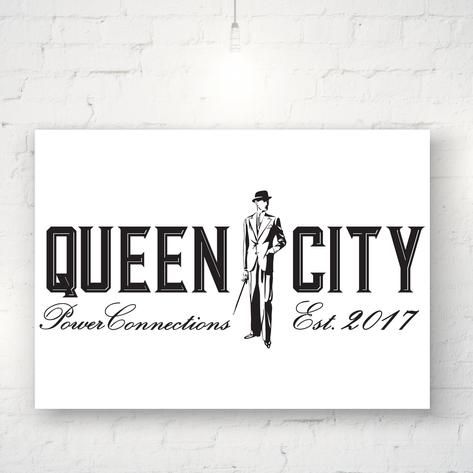 QUEEN CITY POWER CONNECTIONS  |  LOGO DESIGN