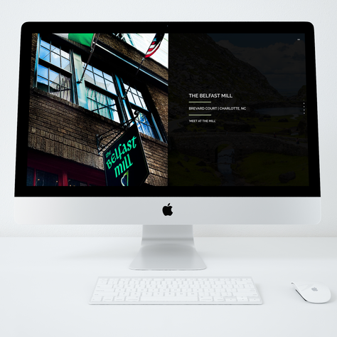 Method331 Creative | Charlotte, NC | Graphic + Web Design Agency // Belfast Mill Irish Pub