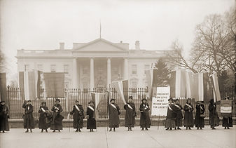 National Women's Party demonstration in