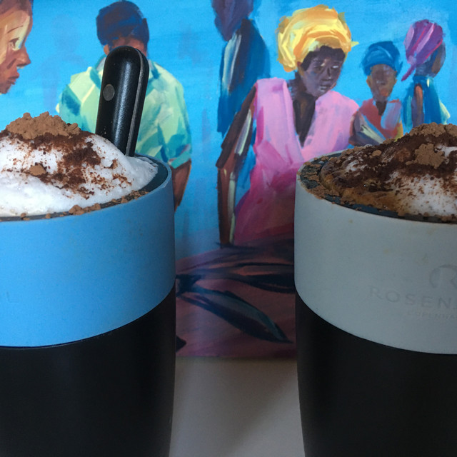 Organic 'Not Coffee' Lattes