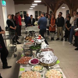 Volunteering at a Seasonal Dinner in Lund