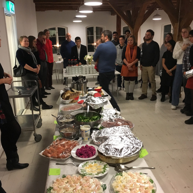 Volunteering at a Seasonal Dinner in Lund