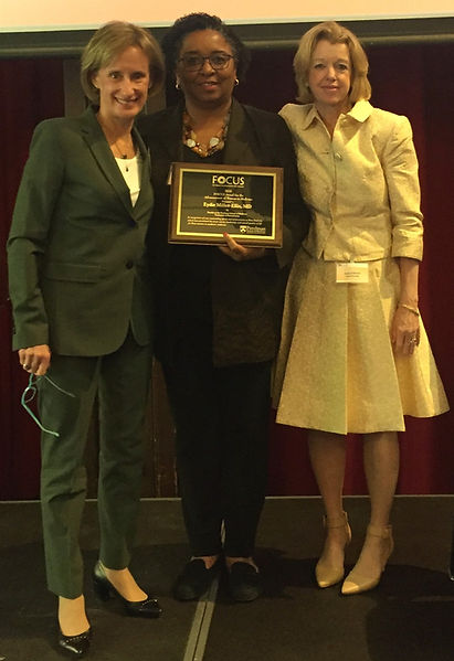 Eydie Miller Recieving FOCUS Award
