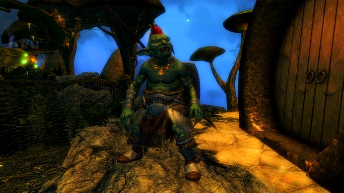 Carved Brink, Faceted Stones, goblin