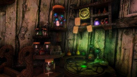 Hermit's Stump, Interior