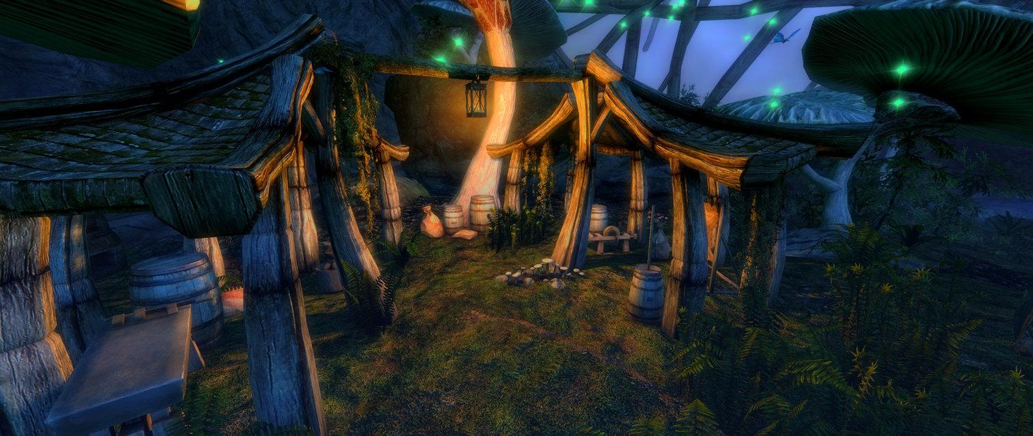 Hermit's Stump, Cave