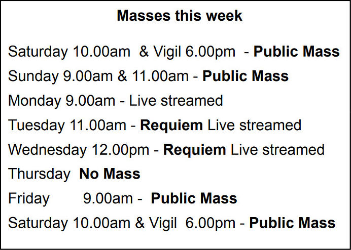 Our Lady of Lourdes Church - Masses2 170