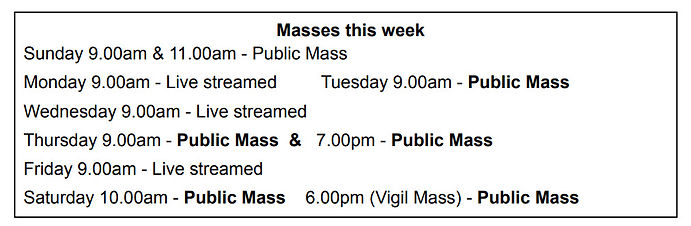 Our Lady of Lourdes Church - Masses2 090