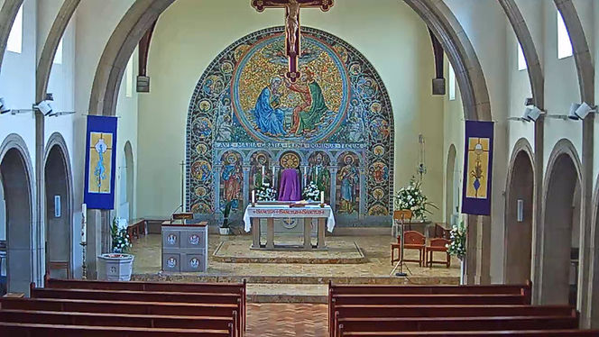 Our Lady of Lourdes Catholic Church Webcam Image