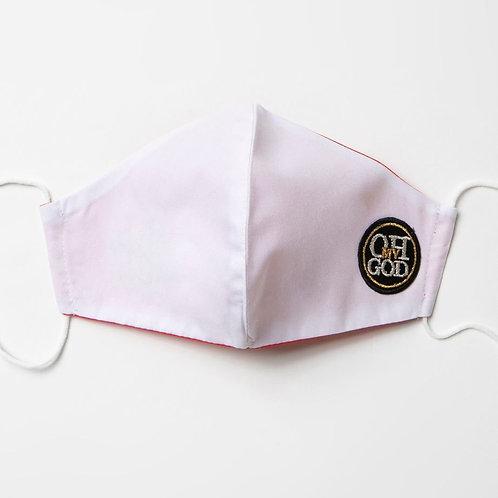 Υφασμάτινη μάσκα - Βαμβακερή με τριγωνική ραφή στο κέντρο P-113