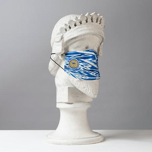 Υφασμάτινη μάσκα - Βαμβακερή με Πιέτες C-101
