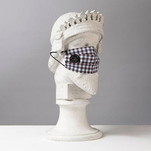 Υφασμάτινη μάσκα - Βαμβακερή με Πιέτες C-110