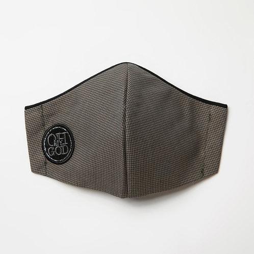 Υφασμάτινη Βαμβακερή Μάσκα με τριγωνική ραφή στο κέντρο P-105