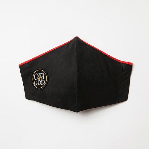 Υφασμάτινη μάσκα - Βαμβακερή με τριγωνική ραφή στο κέντρο P-111