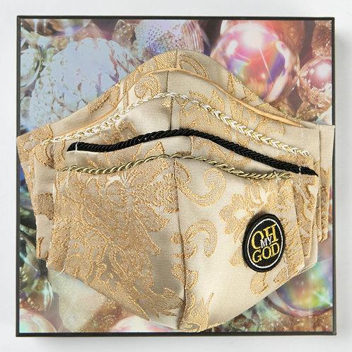 Christmas edition - Υφασμάτινη μάσκα με βαμβακερή εσωτερική επένδυση XRS-101