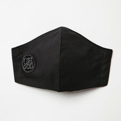 Υφασμάτινη μάσκα - Βαμβακερή με τριγωνική ραφή στο κέντρο P-109