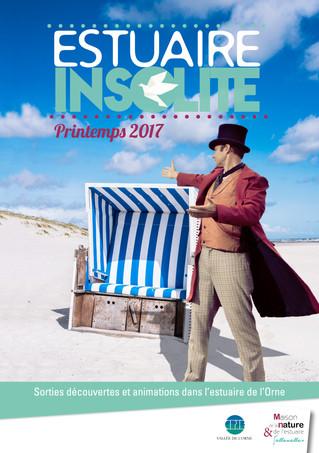 #EstuaireInsolite - le programme des sorties découvertes dans l'Estuaire de l'Orne est en li
